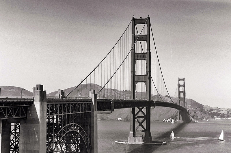 The Golden Gate in San Francisco